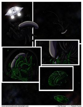 XENOMORPH: Lucky Star - TERROR ON TERRA Pg.03 by Predaguy