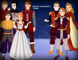 House Lancaster/Tudor Family Reunion by kaybay2323