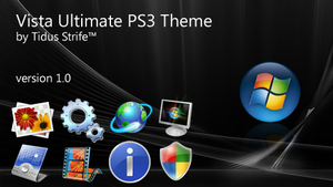 Vista Ultimate PS3 Theme by TidStrife