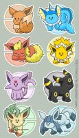 Eevee Team by macurris