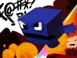UberHaxorNova Rage through Meatboy by Nervousgamer