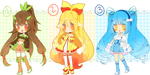 Pokemon Puella are back!! XY {OPEN+PAYPAL} by Hacuubii