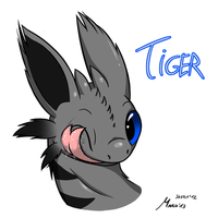 HTTYD: The Little Tiger Color by SrMario