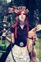 Alice in smoke by Ambioszka