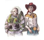 Jessie and Buzz by Phobos-Romulus