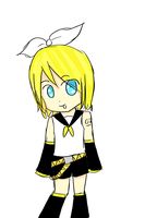 Kagamine Rin Practice by ApplePeaches14