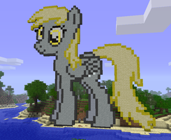 MINECRAFT Derpy Hooves by medli96