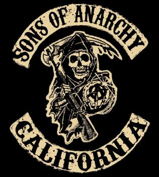 Sons of Anarchy Patch/Logo #1 by Skull123451
