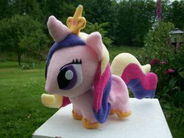 Princess Cadence Chibi Pony MLP FIM by happybunny86