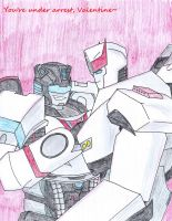 Prowl's Pickup Line for his Valentine by FrostedIcefire