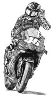 Valentino Rossi no.1 by Heather-Briana
