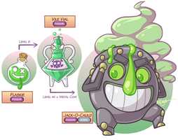 Fakemon: One Lively Brew by The-Knick