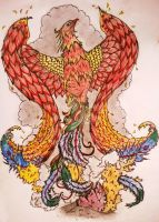 Phoenix by tattoo-love-forever