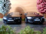 old and new Audi A5 Sportback by modelcargallery98