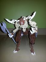 lego minotaur by drago-flame
