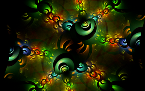 colourful 3d swirls by Andrea1981G