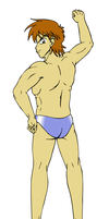 Speedo Hunk by ProfessorMegaman