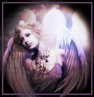 Angel of Transition by AmberCrystalElf