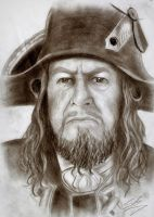 Admiral Barbossa by CaptainTeague