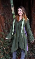 Forest Faerie Coat by erinfirepixie
