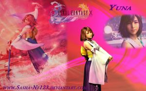Yuna wallpaper by Sasha-Ne123