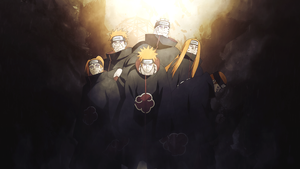 The Six Paths of Pain - Wallpaper by StrengXD