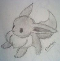 Sketch Eevee by Bluekiss131
