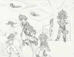 Dragonball Apex Team Challenge by chrisolian