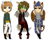 Hybrid Adopts 2 .:CLOSED:. by BrokenMirrors-Adopts