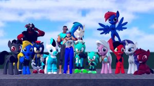1000 Deviations Group Pic! by Legoguy9875
