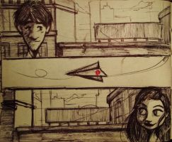 Paperman#Sketch by Shigurui