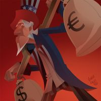 Editorial Uncle Sam 1 by kidchuckle
