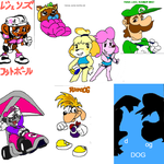 LNY's FlockDraw Collage - Miscellaneous by RBM-Ink