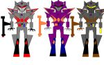 Megatron and clones by Girz-Revenge