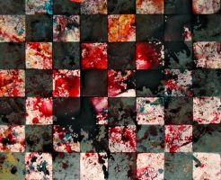 Bloody chessboard by wojtar