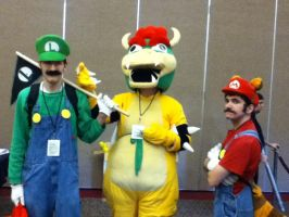 Shutocon 2012: Super Mario Group by BigAl2k6