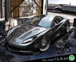 The new F.L.O. GTS Supercar by TuningFlo
