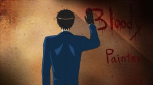GIF-Bloody Painter by DeluCat