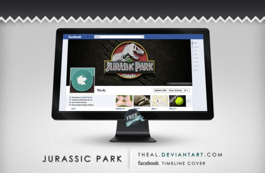 Jurassic Park Timeline Cover by TheAL