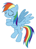 Rainbow Dash - A Job Well Done by Ocarina0fTimelord