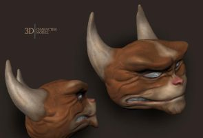 3D Model - Creature by TheMaddhattR