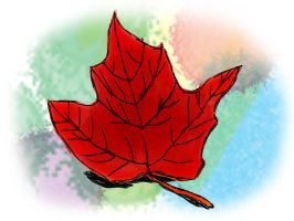 Maple Leaf by Angel-of-Isis