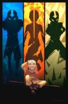 Two Sides - Aang by Blue-Ten