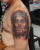 Jesus, Religeous, Tattoo, By Kevin Gordon, Monroe  by kmgsucks