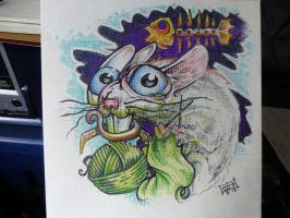 rat thing by Rogercarter