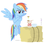 Rainbow Dash in 'A Test of Patience' by dm29