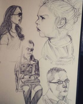 TTC Life Sketches by IamJoopiter