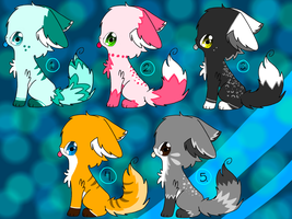 Point Adoptables (1 LEFT!!!) by RoxieDarkStar7