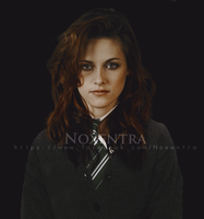 Kristen Stewart as Slytherin by N0xentra