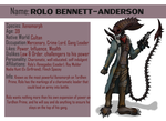 Rolo Bennett-Anderson The Xenomorph Ref Sheet by ChristoMan